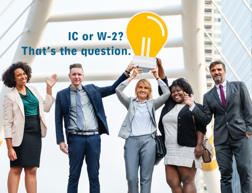 How do I know when to classify a worker as an IC or W-2?