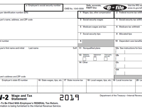 What should you do when you haven't received your W-2?