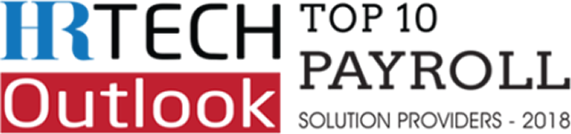 HR Tech Outlook Top 10 Payroll Solution Providers - 2018